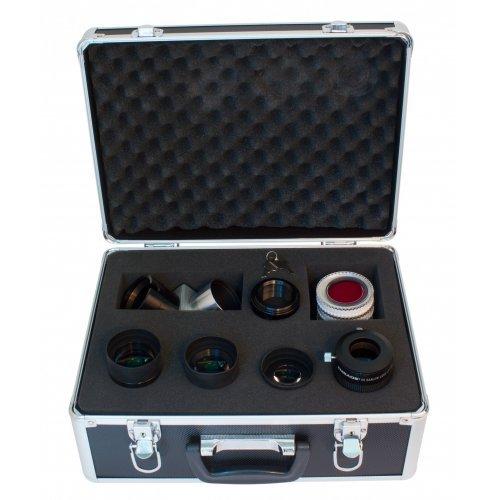 Набор Meade (3 окуляра, Барлоу, диагональное зеркало  2», адаптер 1,25/2, 5 фильтров) в кейсе модель TP607010 от Meade