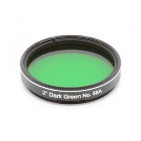 "Фильтр Explore Scientific 2"" Dark Green № 58 модель 0310275 от Explore Scientific"