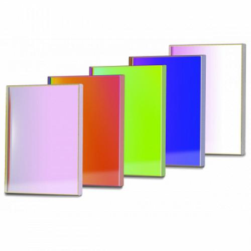 Набор квадратных оптических светофильтров 50мм SBIG FL-50-SQ-LRGB (DeepSky,  LRGB + Ha + SII + OIII) модель FL-50-SQ-DS от SBIG