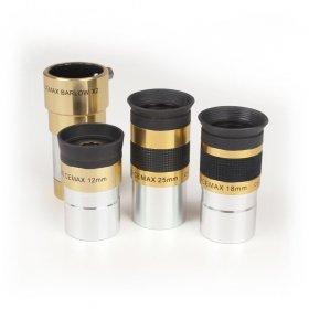 Набор окуляров CORONADO 12, 18, 25mm и  2X Барлоу модель TPCEP от Meade