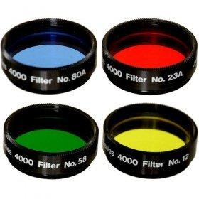 Набор цветных фильтров MEADE #1 (#12, #23A, # 58 , # 80A) модель TP07530 от Meade