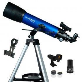 Телескоп MEADE S102 102 мм (660мм f/5.9 азимутальный рефрактор с адаптером для смартфона) модель TP708010 от Meade